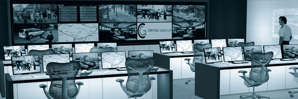 the critec group control room